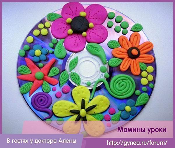 Пластилин для детей своими руками