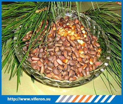 Кедровые орешки от кашля