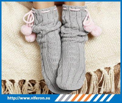 теплые носочки от простуды