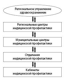 Рисунок 1.3. Организация профилактической помощи на территории РФ
